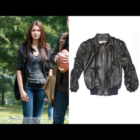 ded558b45125 KRMA Jackets   Blazers - KRMA Jade leather jacket ASO Elena Gilbert